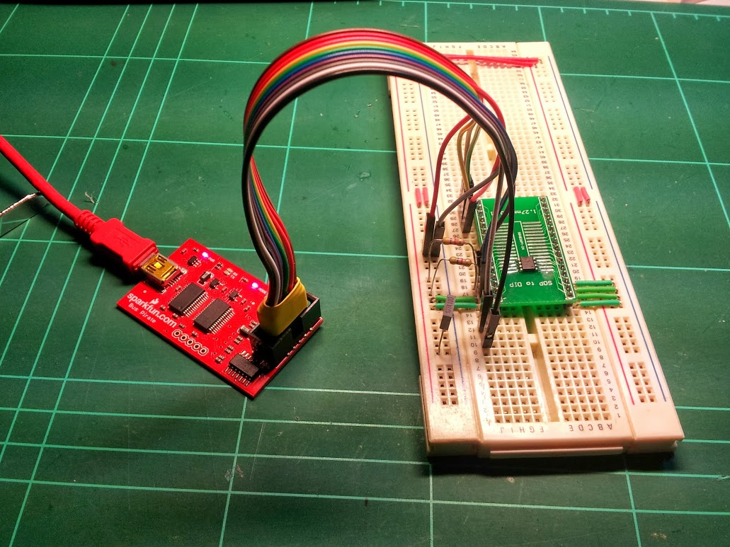 Hack Reading an EEPROM from a Nokia 5110 NewioIT